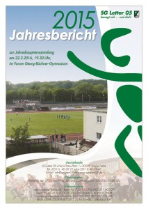 Bericht der Jahreshauptversammlung 2016