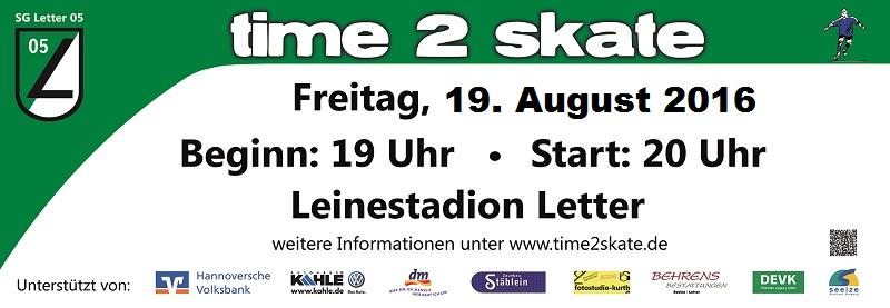 time 2 skate - Banner_kl