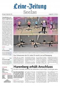 2016-09-19_HAZ - Schauturnen